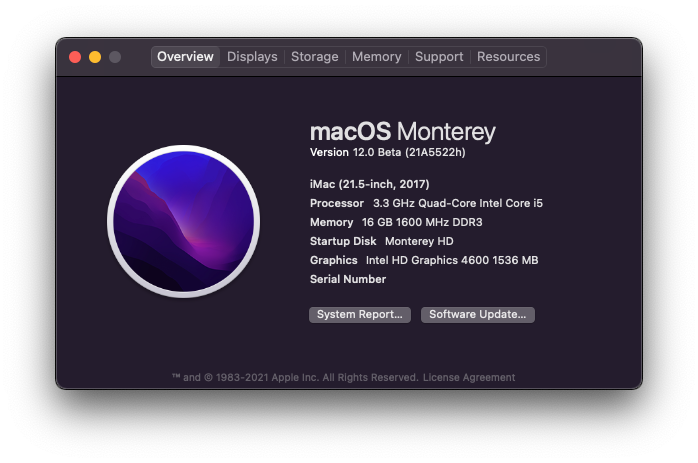 macOS Monterey 12.0 / 12.1 / 12.2 / 12.3 / 12.4 / 12.5 / 12.6 Beta - Page 8 Scree310
