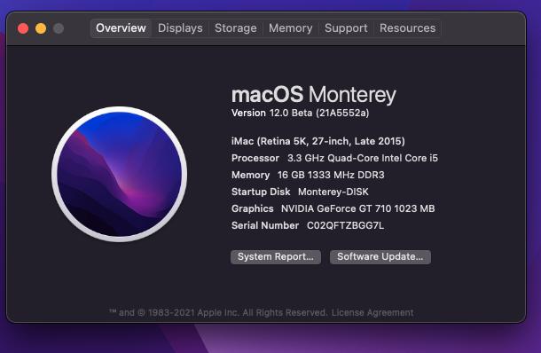 macOS Monterey 12.0 / 12.1 / 12.2 / 12.3 / 12.4 / 12.5 / 12.6 Beta - Page 9 Scree327