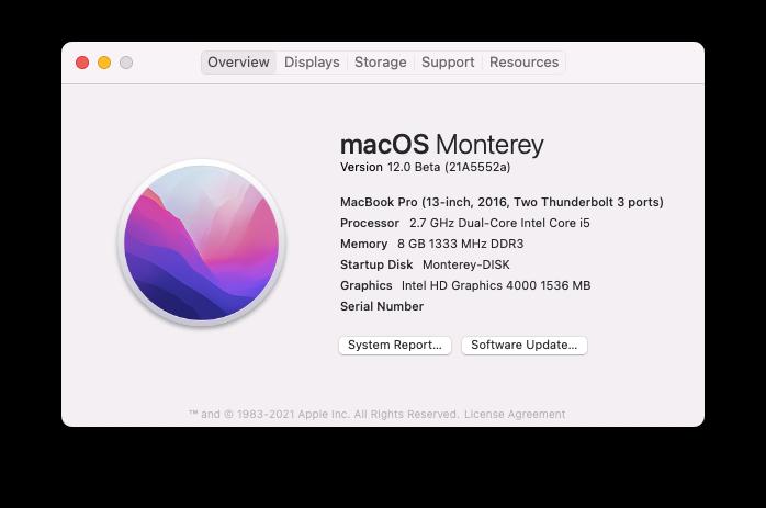 macOS Monterey 12.0 / 12.1 / 12.2 / 12.3 / 12.4 / 12.5 / 12.6 Beta - Page 9 Scree328