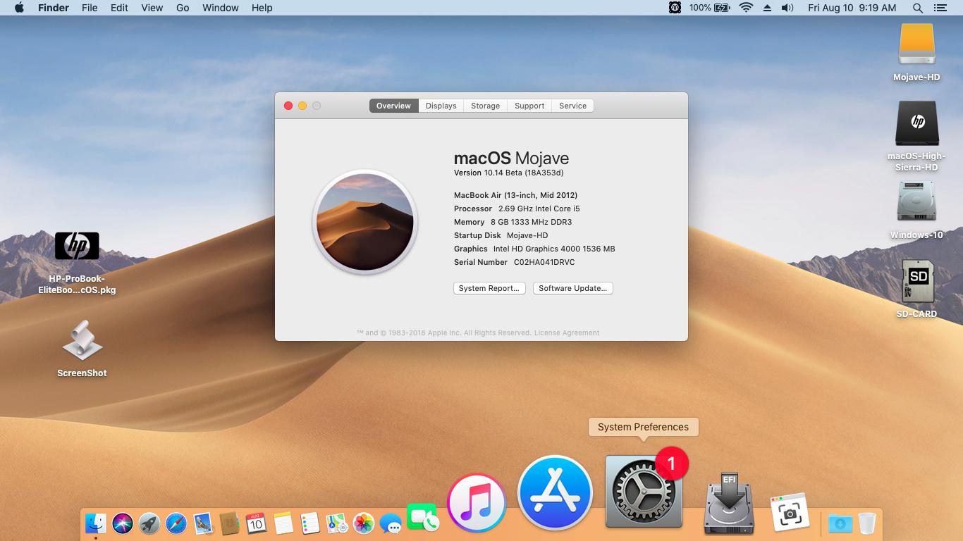 HP ProBook EliteBook macOS - Page 2 Screen12