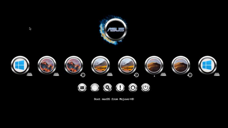 Asus theme Clover Screen42