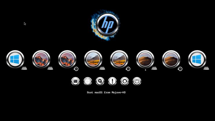 Le theme HP Screen46