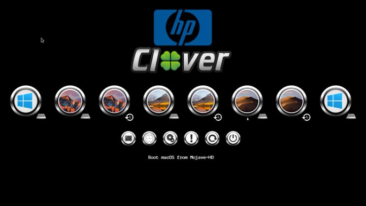 Le theme HP Screen83