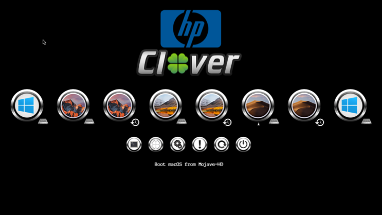Le theme HP Screen84