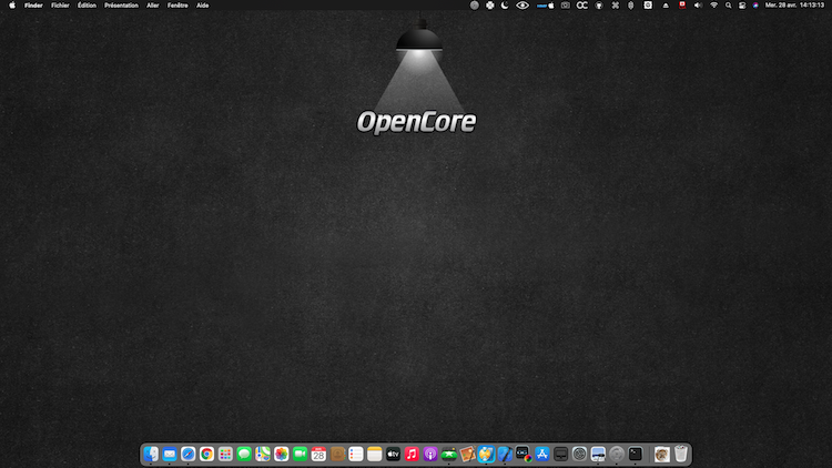 OpenCore Wall Paper Destop Background Simple10