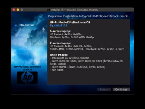 HP ProBook EliteBook macOS / HP ProBook EliteBook Package