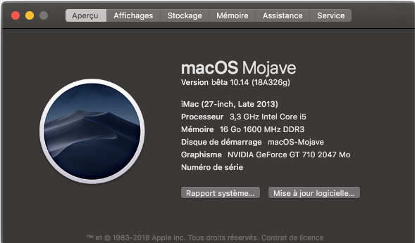 macOS Mojave 10.14 .Beta (Beta1, Beta2, Beta3, Beta4, Beta5, Beta6 . . .) - Page 4 Update11