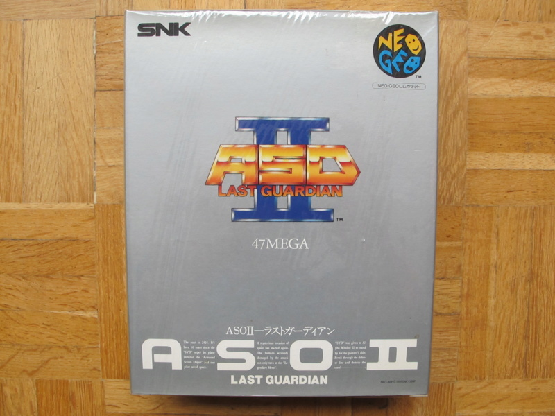 Collection Neo Geo AES de MrRetroGreg Aso_ii11