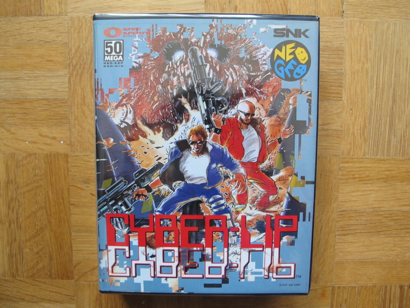 Collection Neo Geo AES de MrRetroGreg Cyber-11