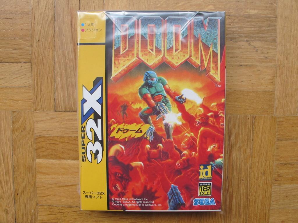 La Super 32X dans tous ses états!!! Doom10
