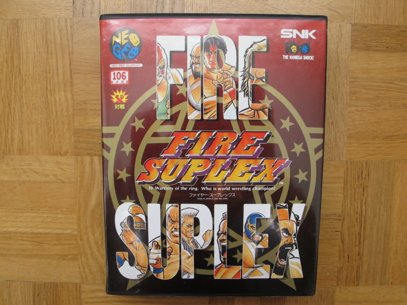 Collection Neo Geo AES de MrRetroGreg Fire_s11