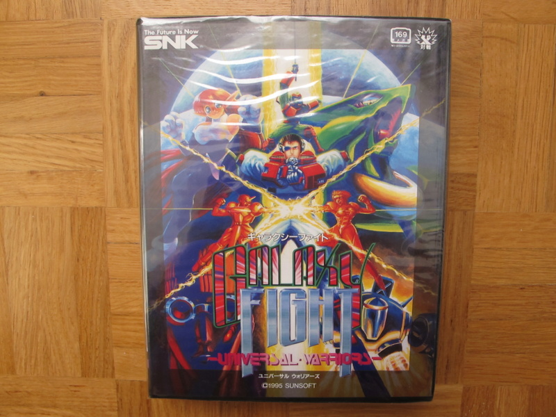 Collection Neo Geo AES de MrRetroGreg Galaxy11