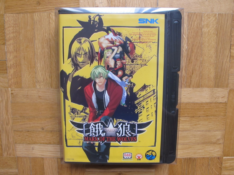 Collection Neo Geo AES de MrRetroGreg Garou_15