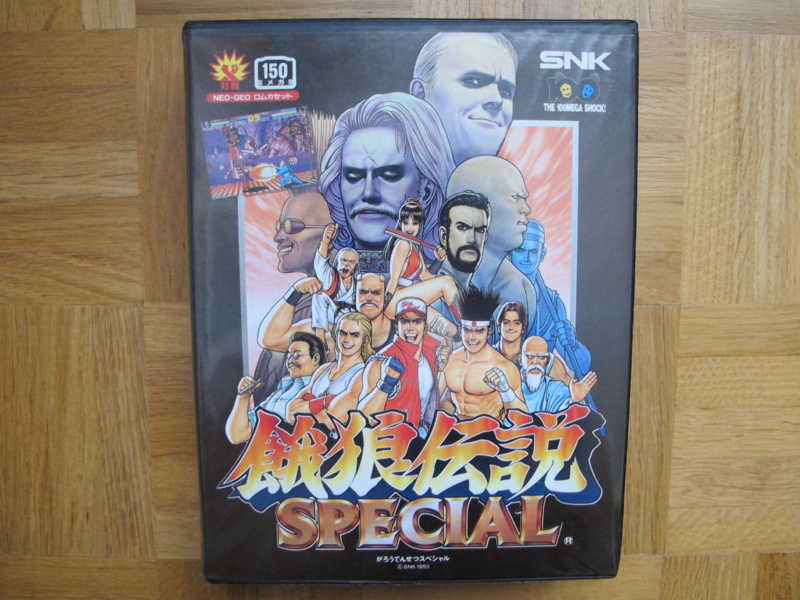 Collection Neo Geo AES de MrRetroGreg Garou_18
