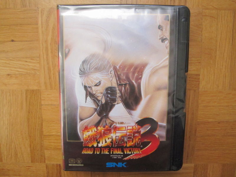 Collection Neo Geo AES de MrRetroGreg Garou_19