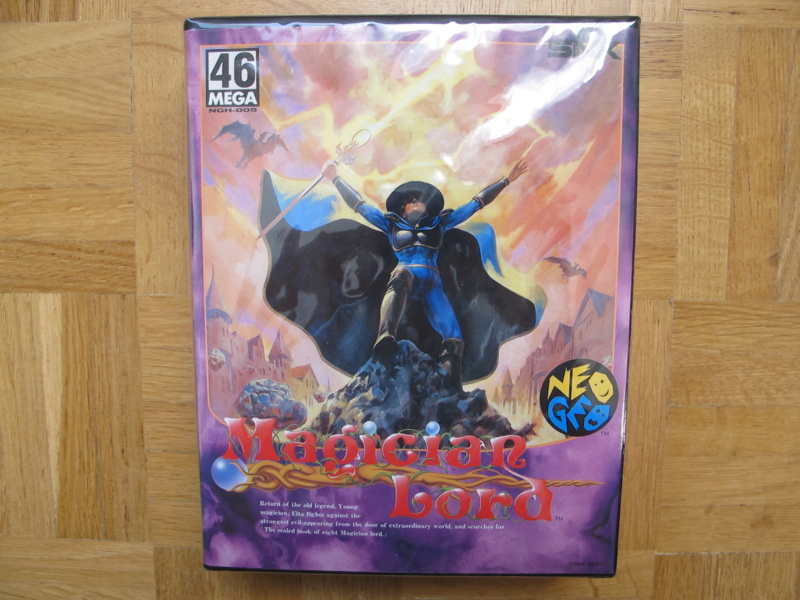 Collection Neo Geo AES de MrRetroGreg Magici11