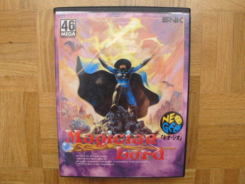 Collection Neo Geo AES de MrRetroGreg Magici16