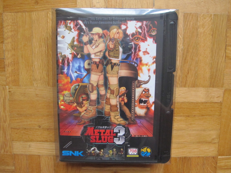 Collection Neo Geo AES de MrRetroGreg Metal_20