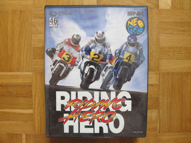 Collection Neo Geo AES de MrRetroGreg Riding11