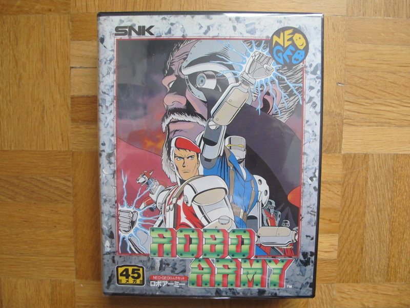 Collection Neo Geo AES de MrRetroGreg Robo_a11