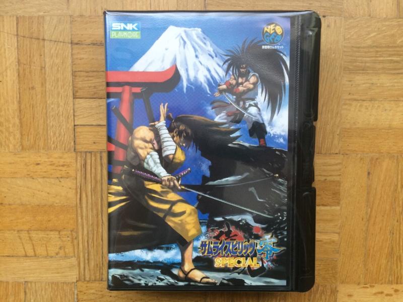 Collection Neo Geo AES de MrRetroGreg Samura20