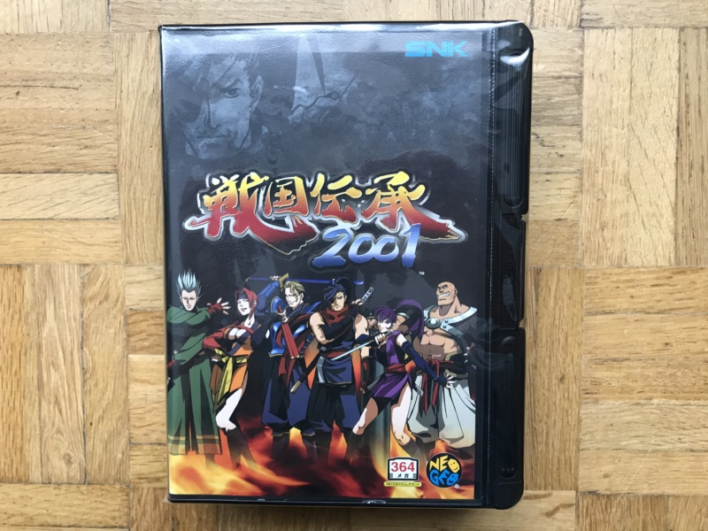 Collection Neo Geo AES de MrRetroGreg Sengok16