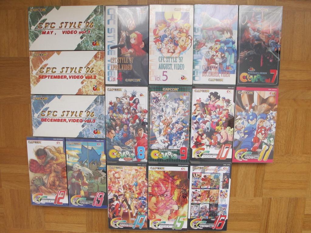 Superplay, Mook, Doujin, Gamest, VHS Promo, OVA,... un autre coup d'oeil sur le Retro Vhs_cf12