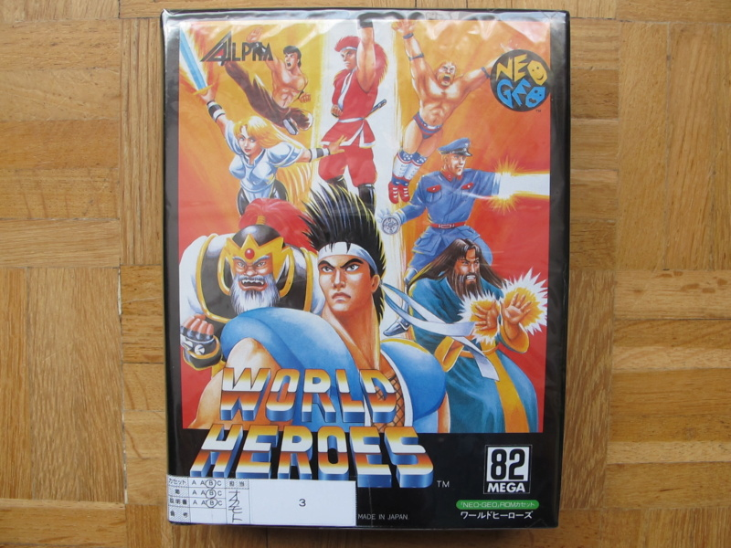 Collection Neo Geo AES de MrRetroGreg World_14