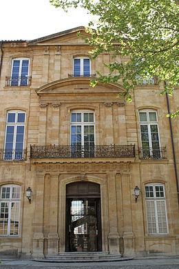 """l'hotel de Réauville , dit """" de Caumont """" 260px-10"""