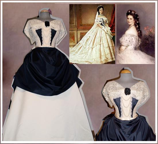 Les robes de l'impératrice Sissi 48116510