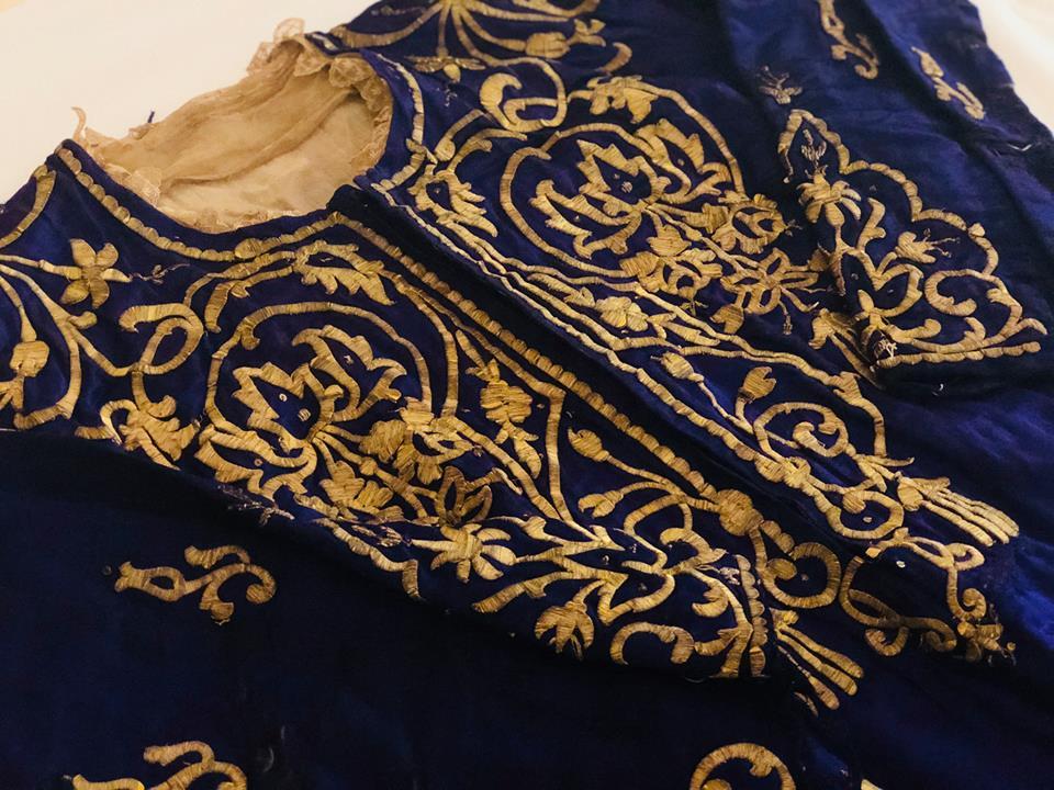 Robe de l'impératrice Elisabeth d'Autriche ( Sissi ) Ottoma11