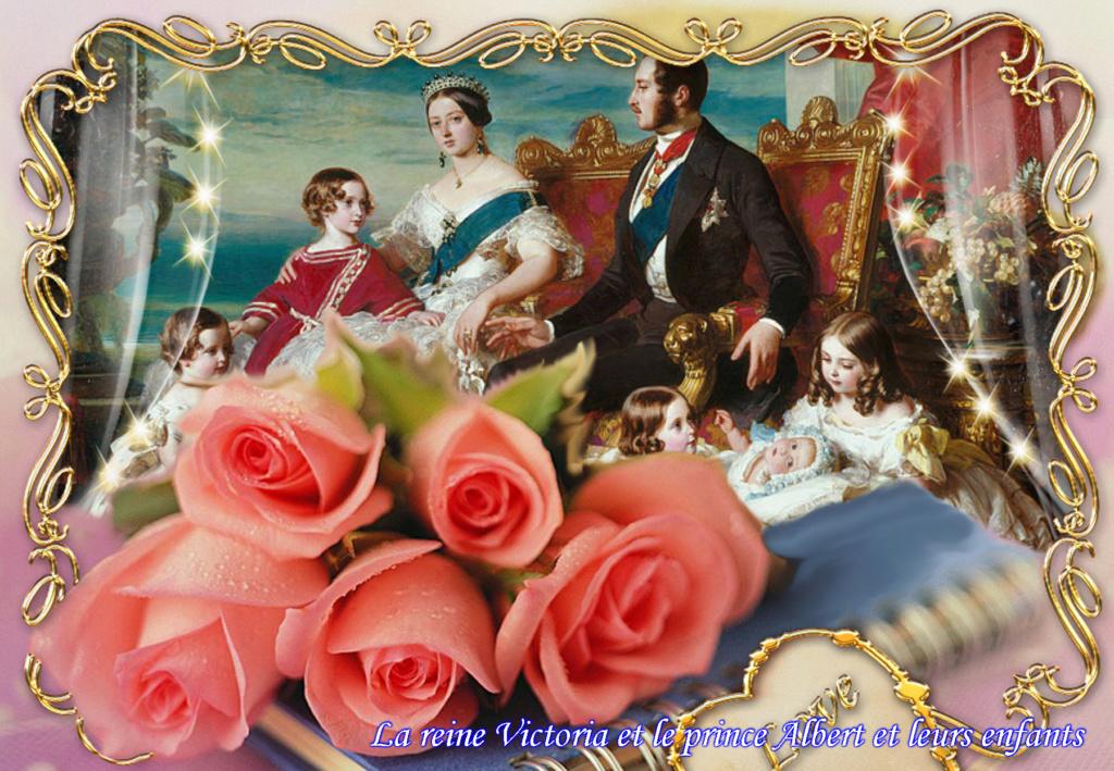 Montages des rois et reines d'angleterre Viptal61