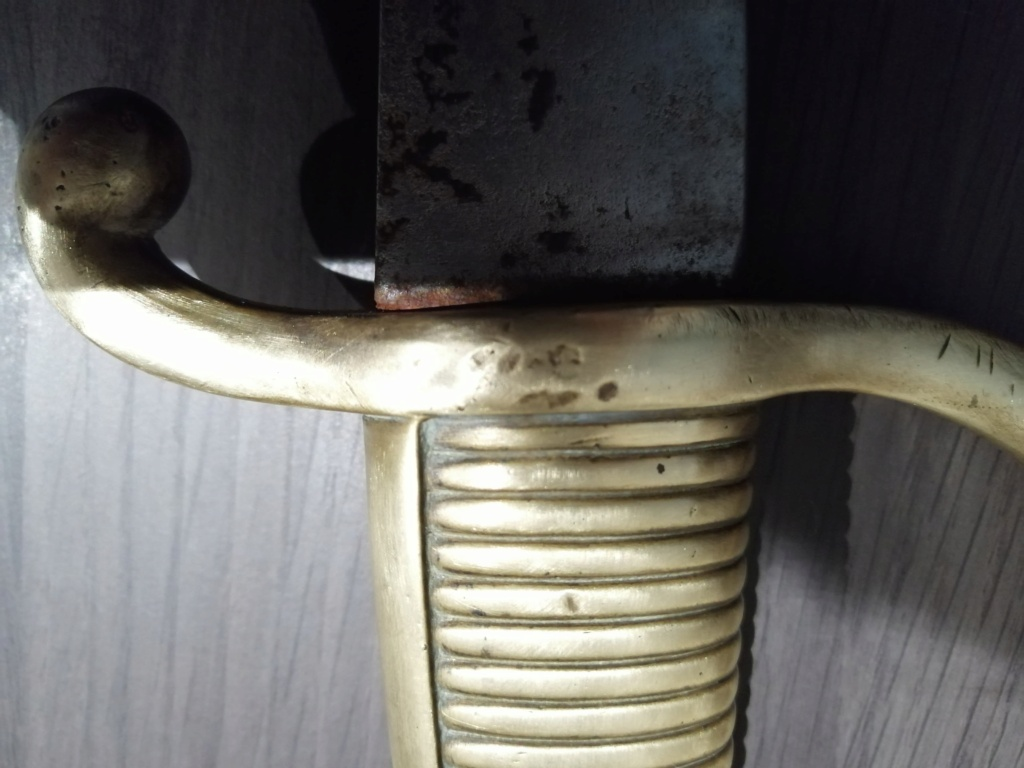 Sabre-briquet Versailles original ? identification 13076210
