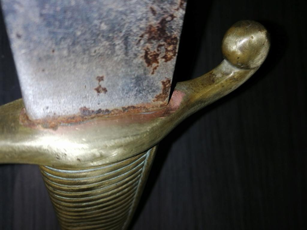 Sabre-briquet Versailles original ? identification 13082810