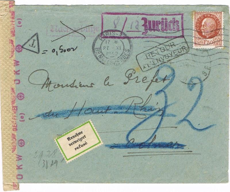 Lettre pour Kolmar Ccf10110