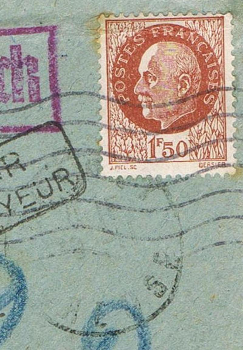 Lettre pour Kolmar Ccf10114