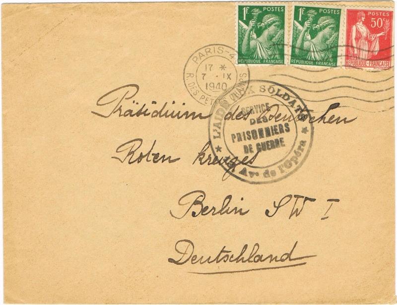 Cachet de censure  « Geprüft XI »  ABP  Berlin Ccf24010