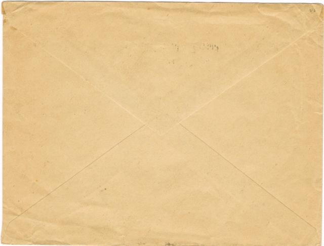 Lettre  de l'autorité d'occupation allemande s'accordant  la franchise à Paris en 1940  , taxée. Ccf28016