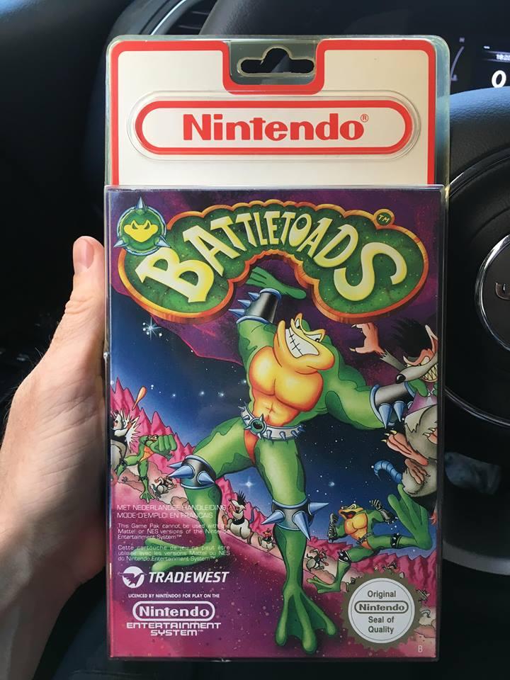 Castlevania 3 NES Dracula's Curse  et Battletoad blister rigide.  Bliste14