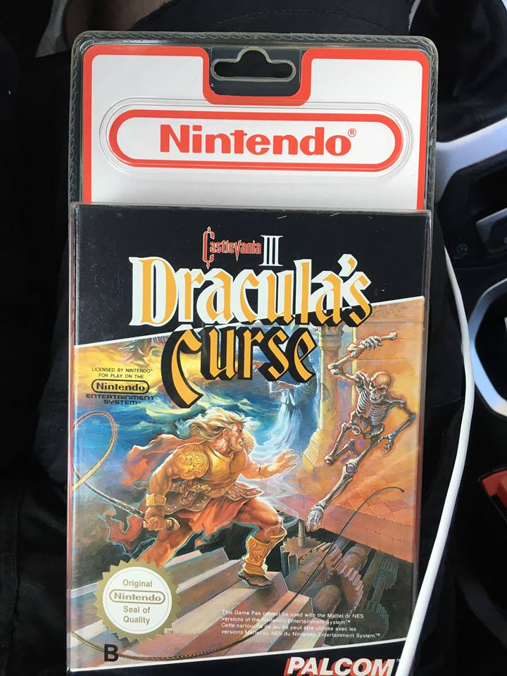 Castlevania 3 NES Dracula's Curse  et Battletoad blister rigide.  Drac210