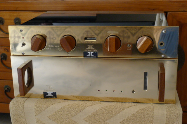 Ensemble Virtouso Preamplifier & Corifeo Power Amplifier (Used) P1150031