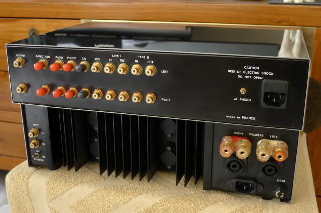 Ensemble Virtouso Preamplifier & Corifeo Power Amplifier (Used) P1150032