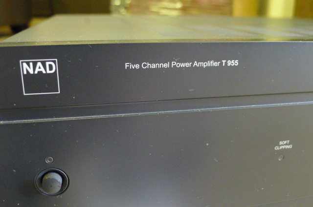 NAD Five Channel Power Amplifier T 955 (used) SOLD P1150048