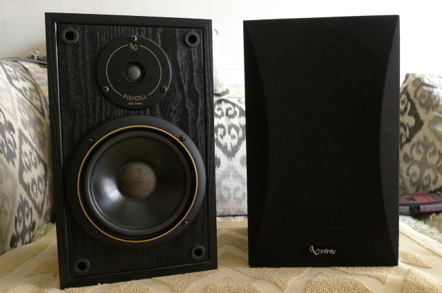 Infinity SM65 Bookshelf Speakers (Used) SOLD P1150135