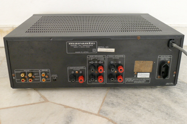 Marantz MM500 Multi-Channel Power Amplifier (Used) SOLD P1150142
