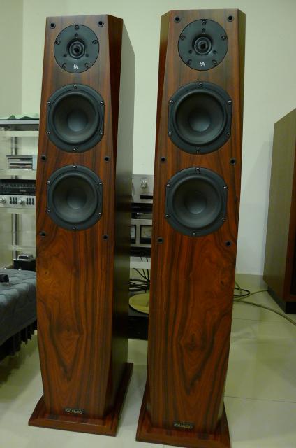 Focus Audio FC8 Floor Stand Loudspeakers (Used) SOLD P1150228