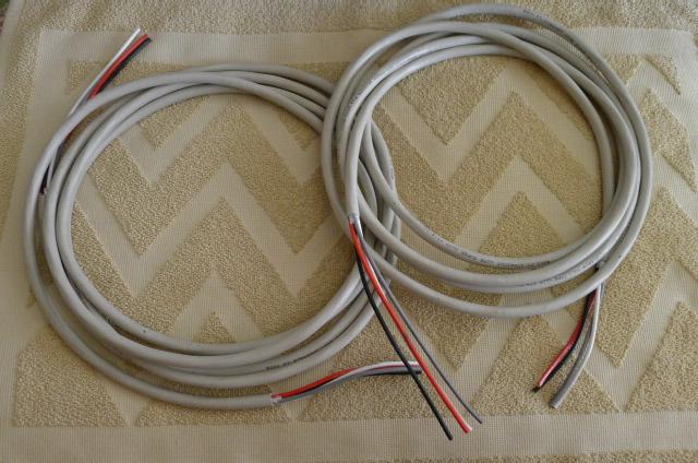 "Straight Wire Super Quad 12/4 Bi-Wire Speaker Cables, 12'5"" m pair (Used) SOLD P1150245"