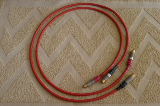 The Gryphon Guideline MK2 Interconnects, 1 m pair (Used) SOLD P1150313