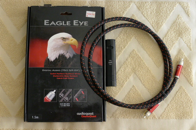 AudioQuest Eagle Eye Digital 75 Ohm Cable, 1.5 m (Used) P1150342