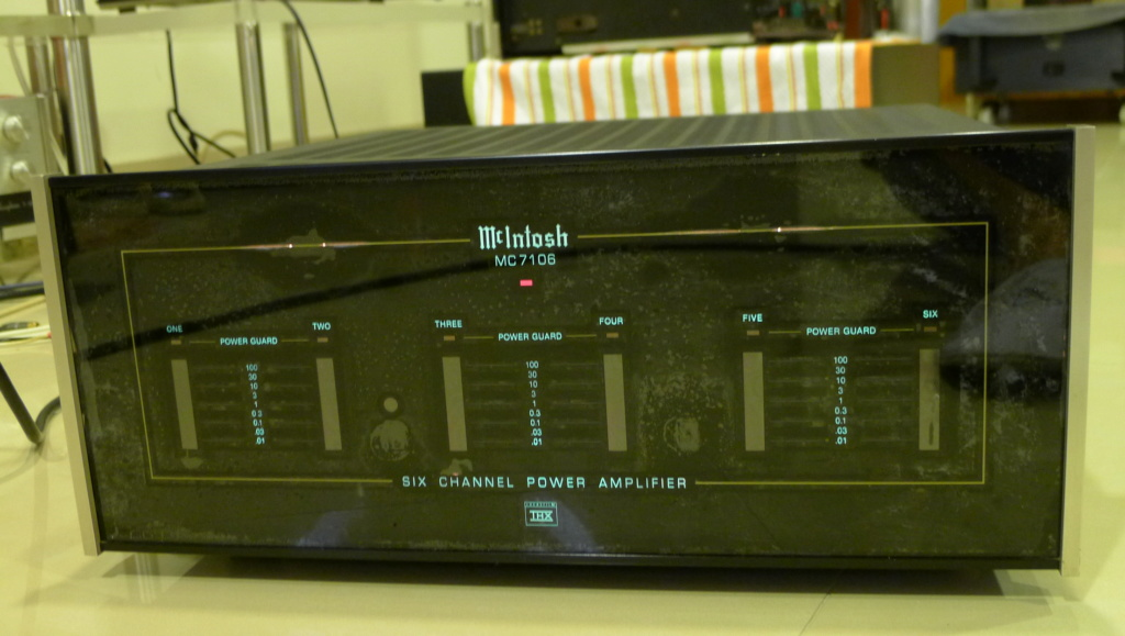 Mcintosh MC7106 Six-Channel Power Amplifier, THX Certified (Used) P1150420